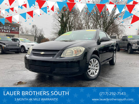 2009 Chevrolet Cobalt for sale at LAUER BROTHERS SOUTH in York PA