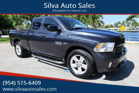 2014 RAM Ram Pickup 1500 for sale at Silva Auto Sales in Pompano Beach FL