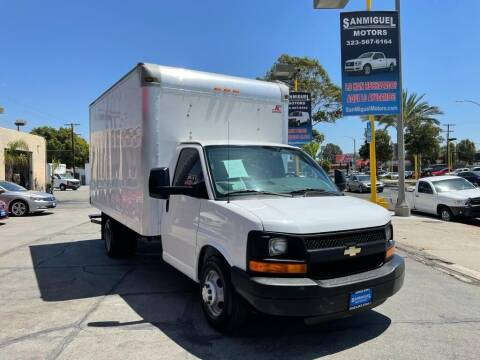 2015 Chevrolet Express Cutaway for sale at Sanmiguel Motors in South Gate CA