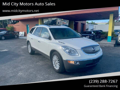 2009 Buick Enclave for sale at Mid City Motors Auto Sales in Fort Myers FL