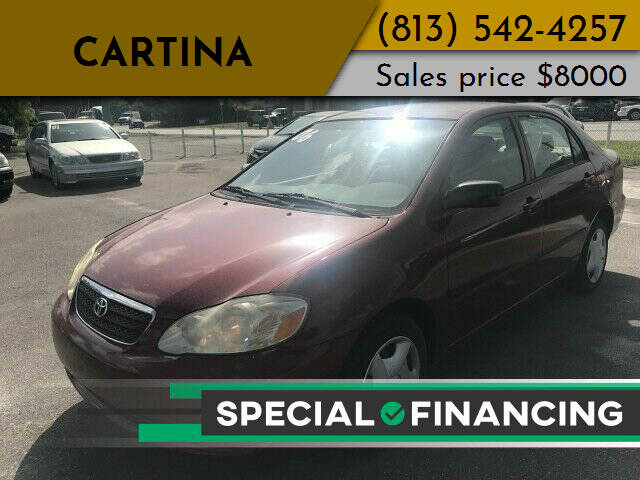 2006 Toyota Corolla for sale at Cartina in Tampa FL