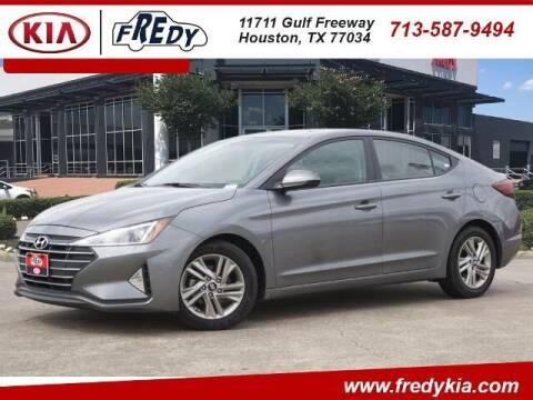 2019 Hyundai Elantra for sale at FREDY KIA USED CARS in Houston TX