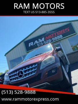 2009 Mercedes-Benz M-Class for sale at RAM MOTORS in Cincinnati OH