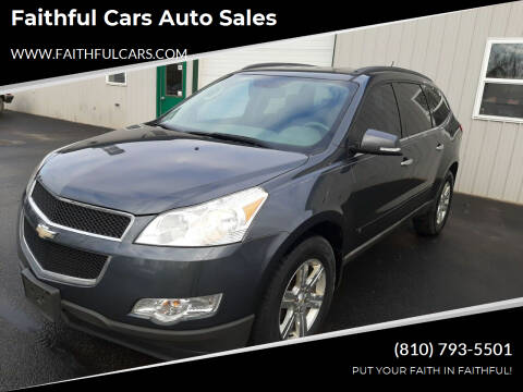 2010 Chevrolet Traverse for sale at Faithful Cars Auto Sales in North Branch MI