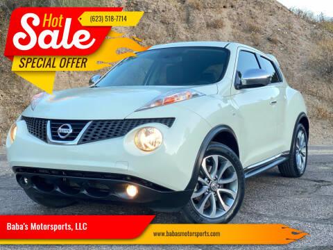 2012 Nissan JUKE for sale at Baba's Motorsports, LLC in Phoenix AZ