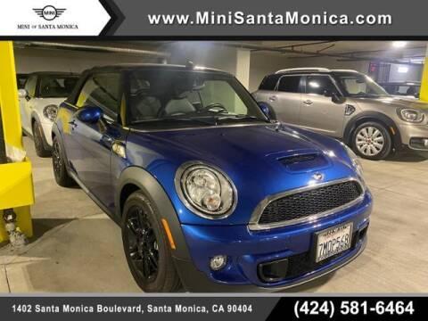 2015 MINI Convertible for sale at MINI OF SANTA MONICA in Santa Monica CA