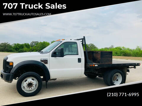 2008 Ford F-550 Super Duty for sale at 707 Truck Sales in San Antonio TX