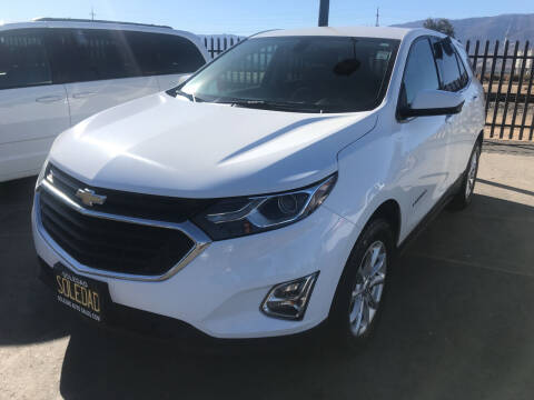 2018 Chevrolet Equinox for sale at Soledad Auto Sales in Soledad CA