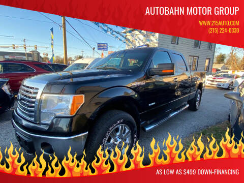 2012 Ford F-150 for sale at Autobahn Motor Group in Willow Grove PA