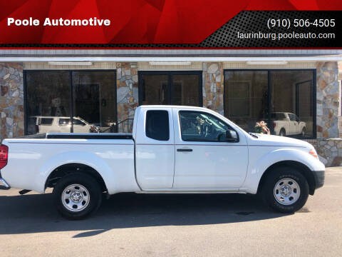 2016 Nissan Frontier for sale at Poole Automotive in Laurinburg NC