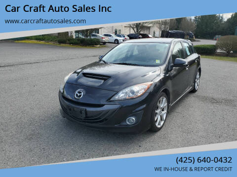 2010 Mazda MAZDASPEED3 for sale at Car Craft Auto Sales Inc in Lynnwood WA