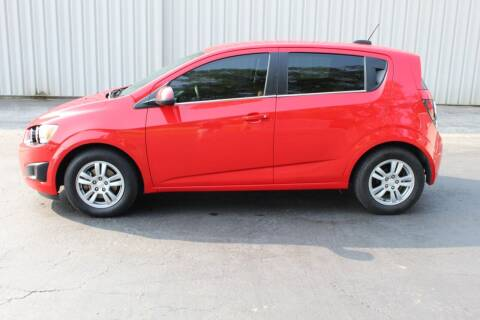 2015 Chevrolet Sonic for sale at Lansing Auto Mart in Lansing KS