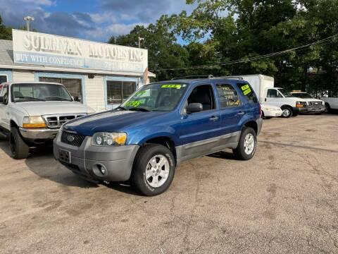 2007 Ford Escape for sale at Lucien Sullivan Motors INC in Whitman MA