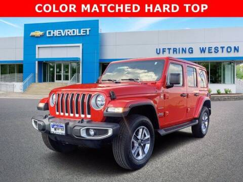 2021 Jeep Wrangler Unlimited for sale at Uftring Weston Pre-Owned Center in Peoria IL