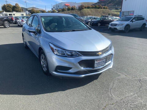 2017 Chevrolet Cruze for sale at Guy Strohmeiers Auto Center in Lakeport CA