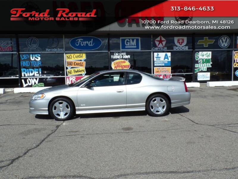 2006 Chevrolet Monte Carlo for sale at Ford Road Motor Sales in Dearborn MI