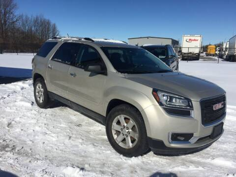 2015 GMC Acadia for sale at AFS Ohio in Grove City OH