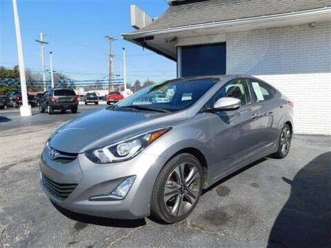 2014 Hyundai Elantra for sale at D & T Auto Sales, Inc. in Henderson KY