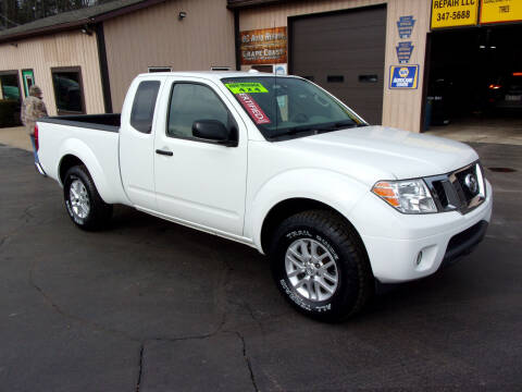 2016 Nissan Frontier for sale at Dave Thornton North East Motors in North East PA