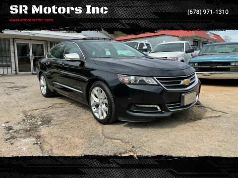 2014 Chevrolet Impala for sale at SR Motors Inc in Gainesville GA