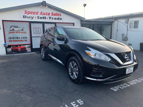 2016 Nissan Murano for sale at Speed Auto Sales in El Cajon CA