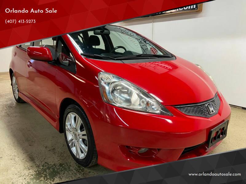 2010 Honda Fit for sale at Orlando Auto Sale in Orlando FL