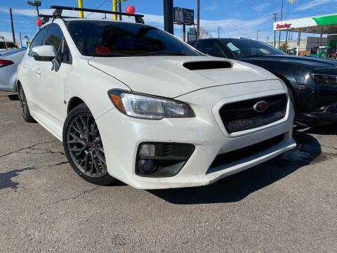 2017 Subaru WRX for sale at New Wave Auto Brokers & Sales in Denver CO