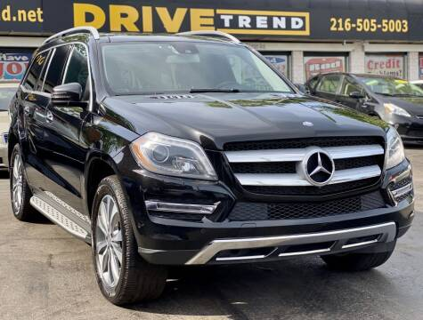 2014 Mercedes-Benz GL-Class for sale at DRIVE TREND in Cleveland OH