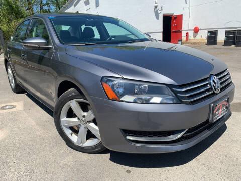 2012 Volkswagen Passat for sale at JerseyMotorsInc.com in Teterboro NJ