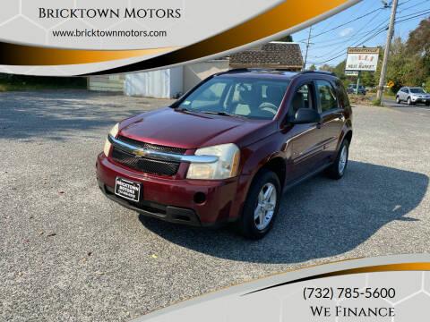 2008 Chevrolet Equinox for sale at Bricktown Motors in Brick NJ