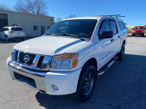 2010 Nissan Titan for sale at Brewster Used Cars in Anderson SC