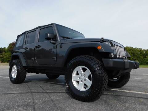 2017 Jeep Wrangler Unlimited for sale at Used Cars For Sale in Kernersville NC