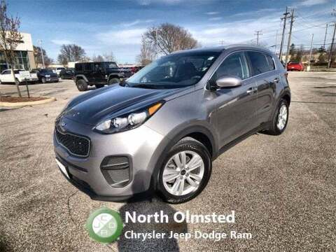 2019 Kia Sportage for sale at North Olmsted Chrysler Jeep Dodge Ram in North Olmsted OH