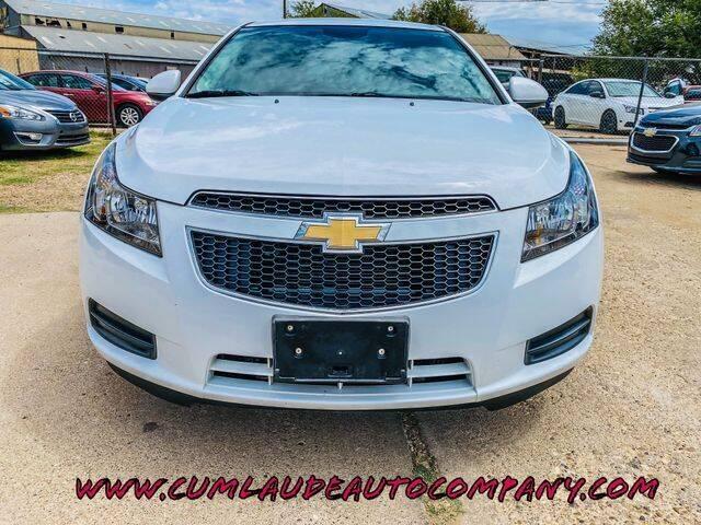 2014 Chevrolet Cruze for sale at MAGNA CUM LAUDE AUTO COMPANY in Lubbock TX
