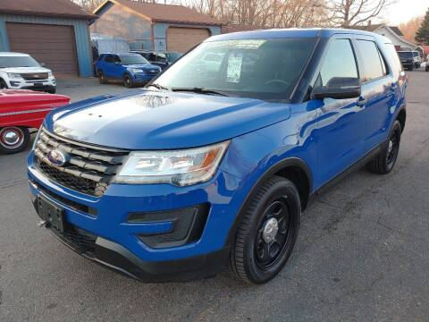 2016 Ford Explorer for sale at Rombaugh's Auto Sales in Battle Creek MI