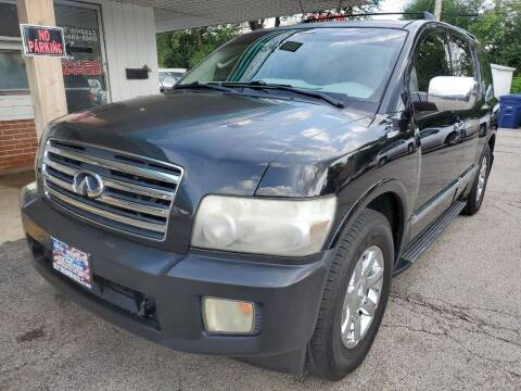 2007 Infiniti QX56 for sale at New Wheels in Glendale Heights IL