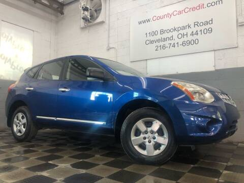2011 Nissan Rogue for sale at County Car Credit in Cleveland OH