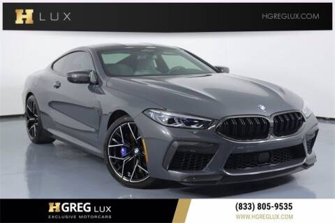 2020 BMW M8 for sale at HGREG LUX EXCLUSIVE MOTORCARS in Pompano Beach FL