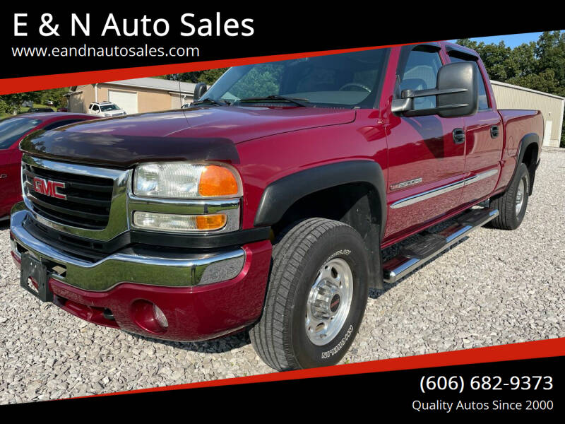2004 GMC Sierra 2500HD for sale at E & N Auto Sales in London KY