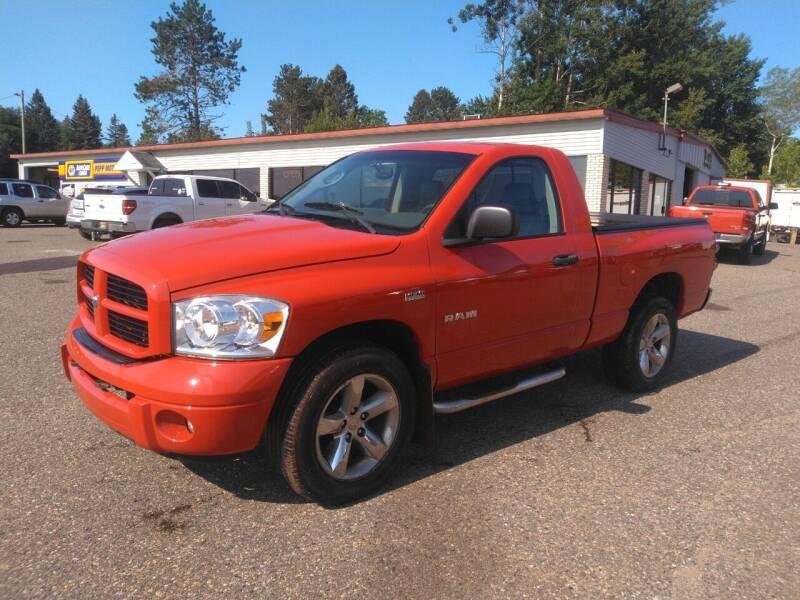 2008 Dodge Ram Pickup 1500 for sale at Pepp Motors - Superior Auto in Negaunee MI