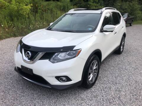 2015 Nissan Rogue for sale at R.A. Auto Sales in East Liverpool OH