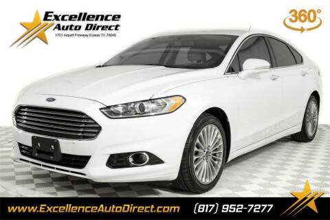 2016 Ford Fusion for sale at Excellence Auto Direct in Euless TX