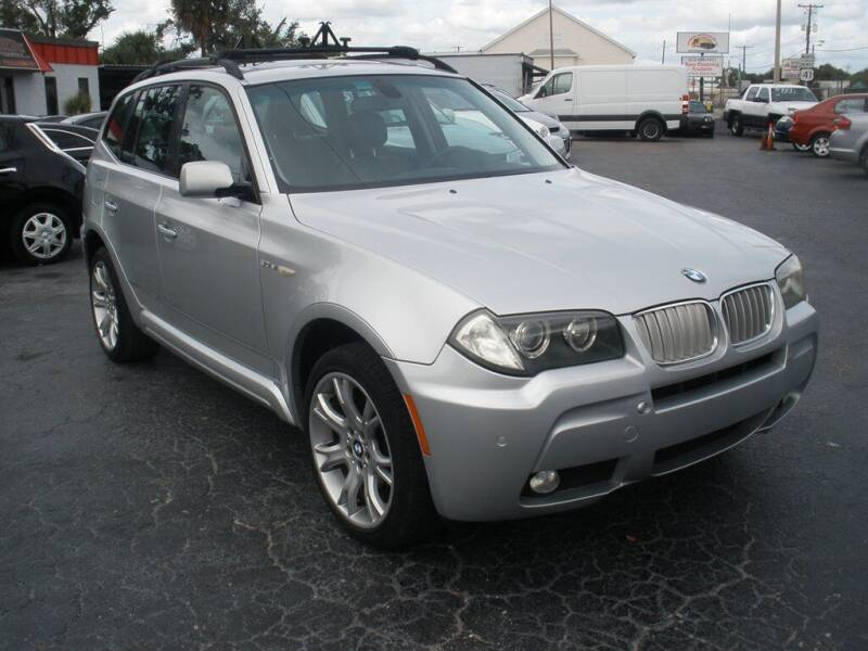 2007 BMW X3 for sale at Priceline Automotive in Tampa FL