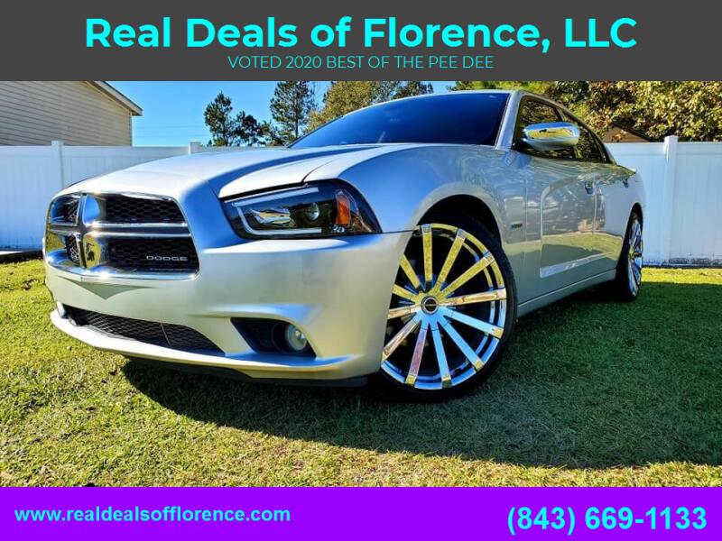 2012 Dodge Charger for sale at Real Deals of Florence, LLC in Effingham SC
