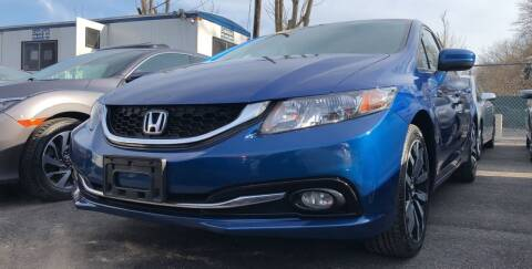 2014 Honda Civic for sale at OFIER AUTO SALES in Freeport NY
