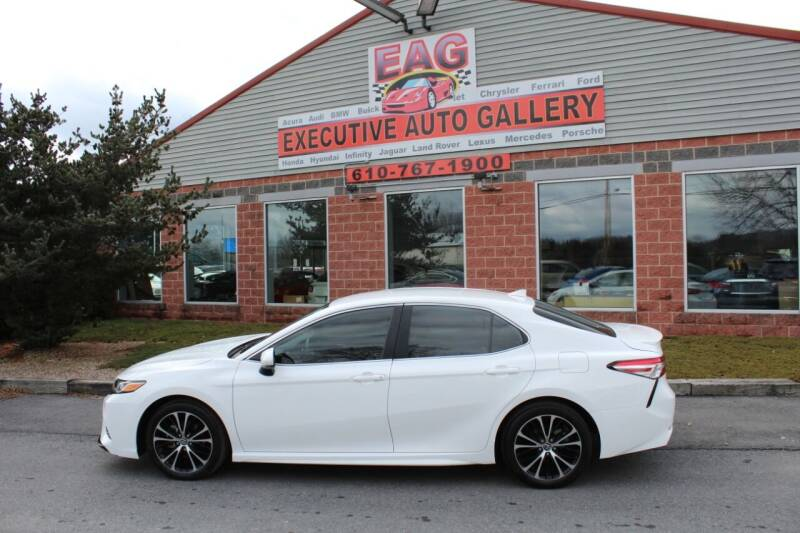2020 Toyota Camry for sale at EXECUTIVE AUTO GALLERY INC in Walnutport PA