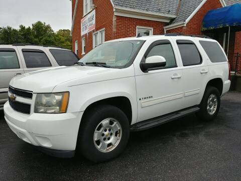 2009 Chevrolet Tahoe for sale at Regional Auto Sales in Madison Heights VA