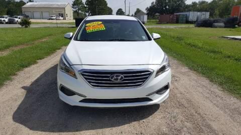 2016 Hyundai Sonata for sale at Auto Guarantee, LLC in Eunice LA