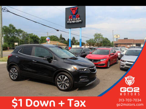 2020 Buick Encore for sale at Go2Motors in Redford MI
