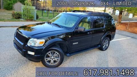 2007 Ford Explorer for sale at Wheeler Dealer Inc. in Acton MA